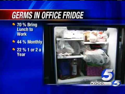 Study: Office Refrigerators Full Of Germs