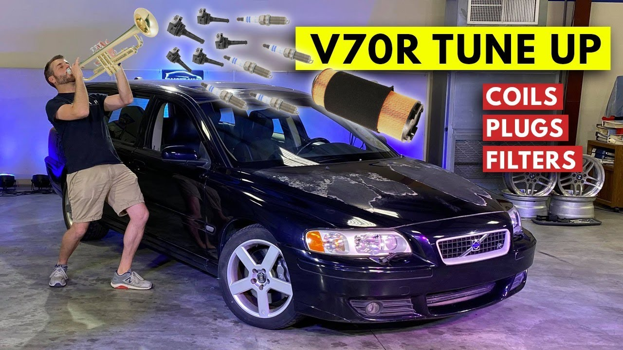 I Did A Tune-Up On My Volvo V70R Spaceball And Unlocked TWICE The Horsepower... Sleeper Wagon!