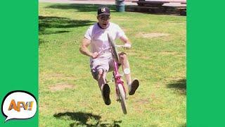 Tiny Bike, BIG FAIL! 🤣 | Funny Fails | AFV 2021