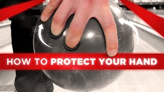 How To Protect Your Bowling Hand Inside a Bowling Ball To Throw More Strikes   Brad and Kyle