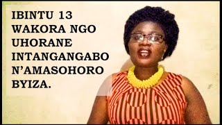 Ibintu 13 wakora ngo uhorane intanga nzima