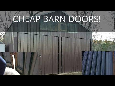 Best, Cheap, DIY Barn Doors!