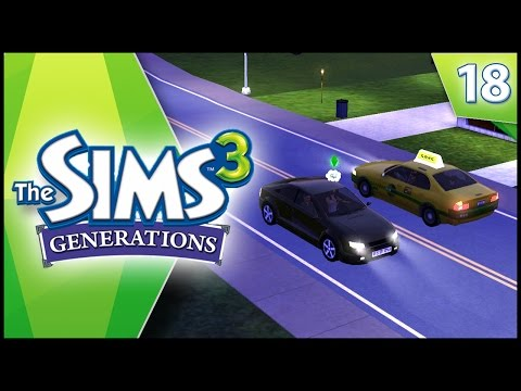 DRIVING LESSONS! - Sims 3 GENERATIONS - EP 18