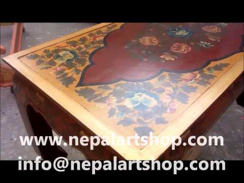 Tibetan Hand Painted Furniture Manufacturer and Exporter