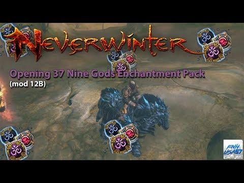 Neverwinter: Opening 37 Nine Gods Enchantment Pack (mod 12B)