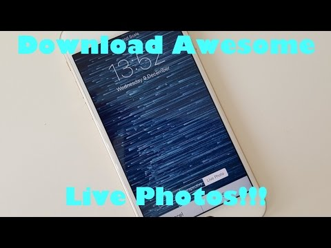 Download Live Wallpapers for iPhone 6S