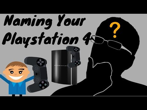 HOW TO CHANGE PLAYSTATION 4 (PS4'S) NAME! *UPDATED*