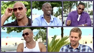 Fast and Furious cast on