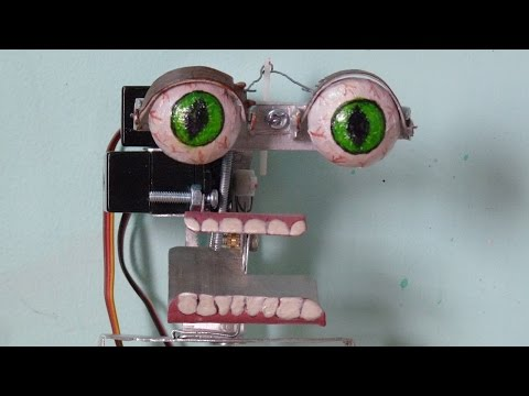 How to make your own Animatronics Robot at home