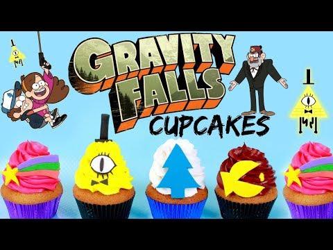 GRAVITY FALLS CUPCAKES