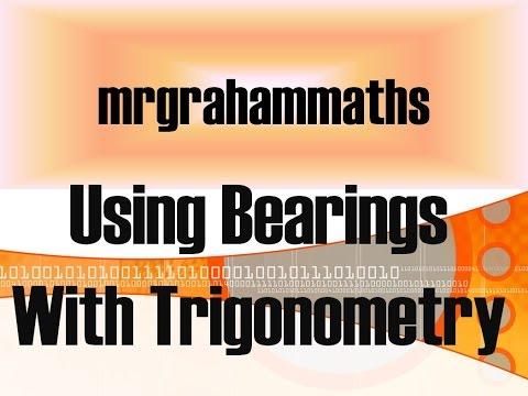 Nat 5 Maths - Using Bearings with Trigonometry