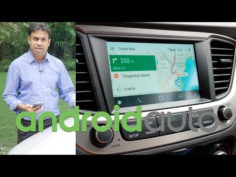 Android Auto Demo & How Well It Works in India