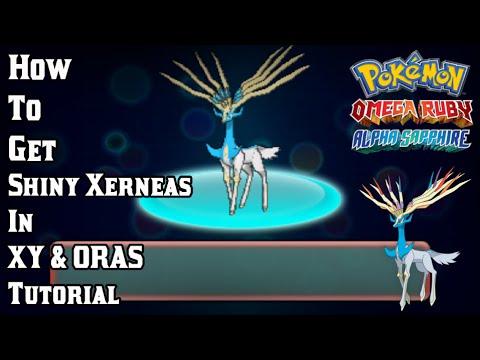 How to get the Shiny Xerneas in Pokémon XY & ORAS Tutorial.