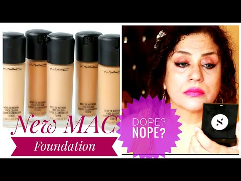 MAC Next to Nothing Foundation Review + Demo | Giveaway open