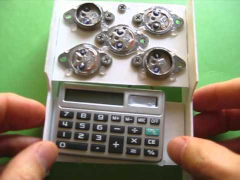Make Solar Cell Transistor Powered Calculator using 2n3055
