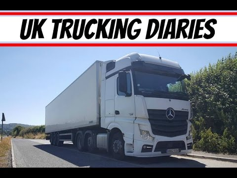 UK Articulated Lorry Driving ~ Last trip in the Actros