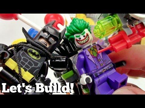 THE LEGO BATMAN MOVIE: The Joker Balloon Escape 70900 - Let's Build!