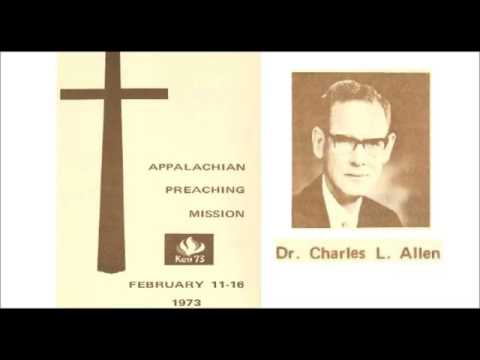 1973 Sermon from Dr. Charles L. Allen Speaking on Psalm 23 from God's Psychiatry