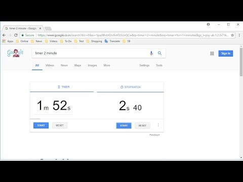 How to use Google as a Timer & Stopwatch