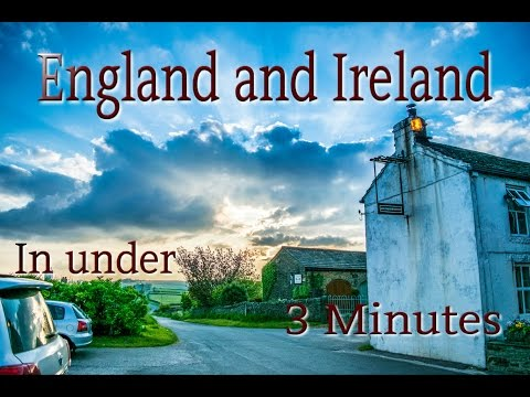 How to Travel to England and Ireland in Under 3 Minutes