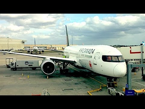Air Canada Boeing 787-9 Dreamliner Economy Class Review | London Heathrow - Toronto Pearson AC849