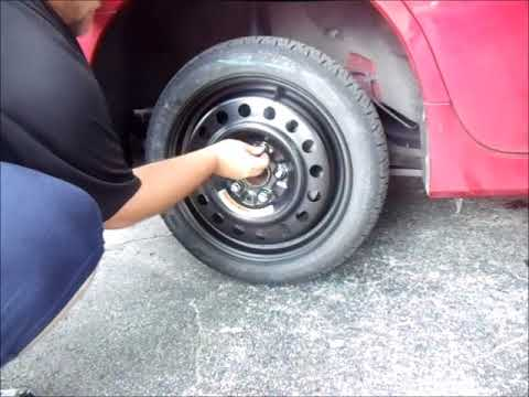 How use JACK Nisan Altima Maxima Leaf Change Spare Car Tire 2014 2015 2016 2017 2018 2013 Lug Wrench