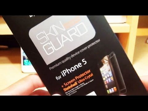 Skin Guard for iPhone 5 Install / Review