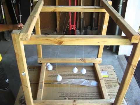 Garrett Demonstrates Newton's Cradle
