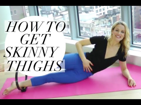 How to get SKINNY THIGHS in just 5 Minutes!