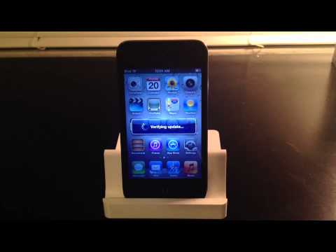 iOS 6 Update (iPod Touch 4th Gen.)