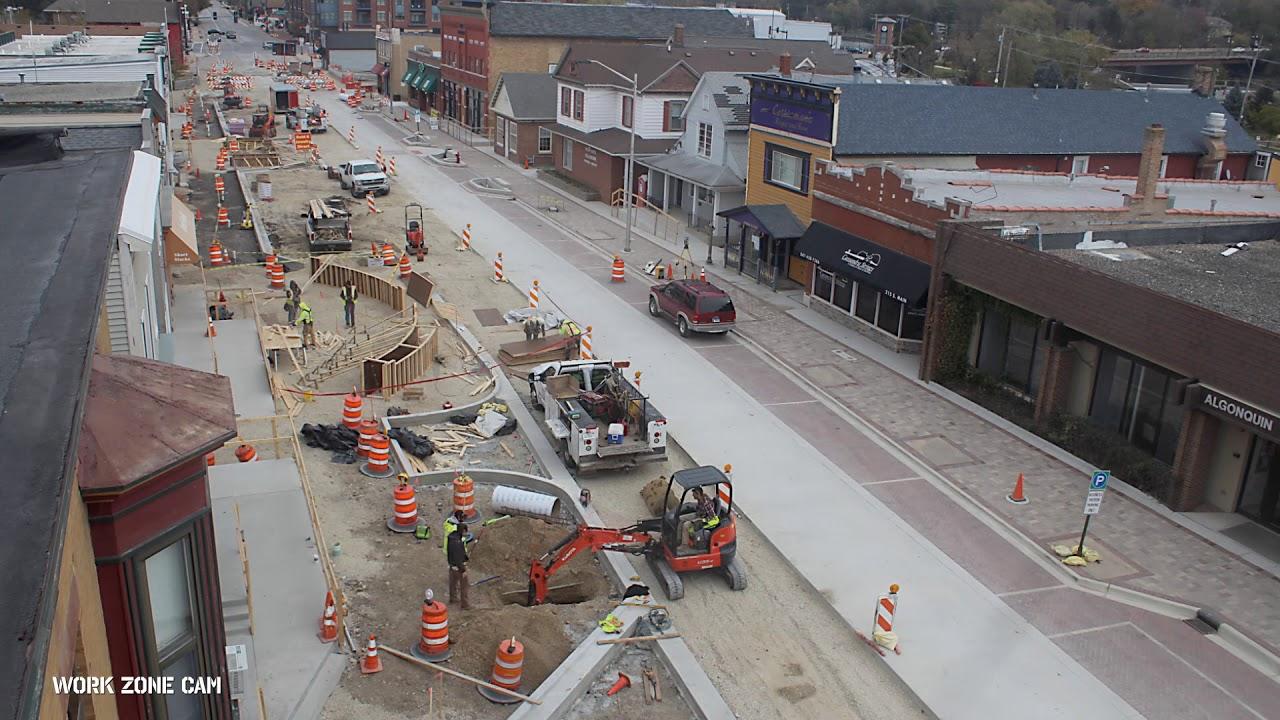 Old Town Algonquin Construction Time-Lapse