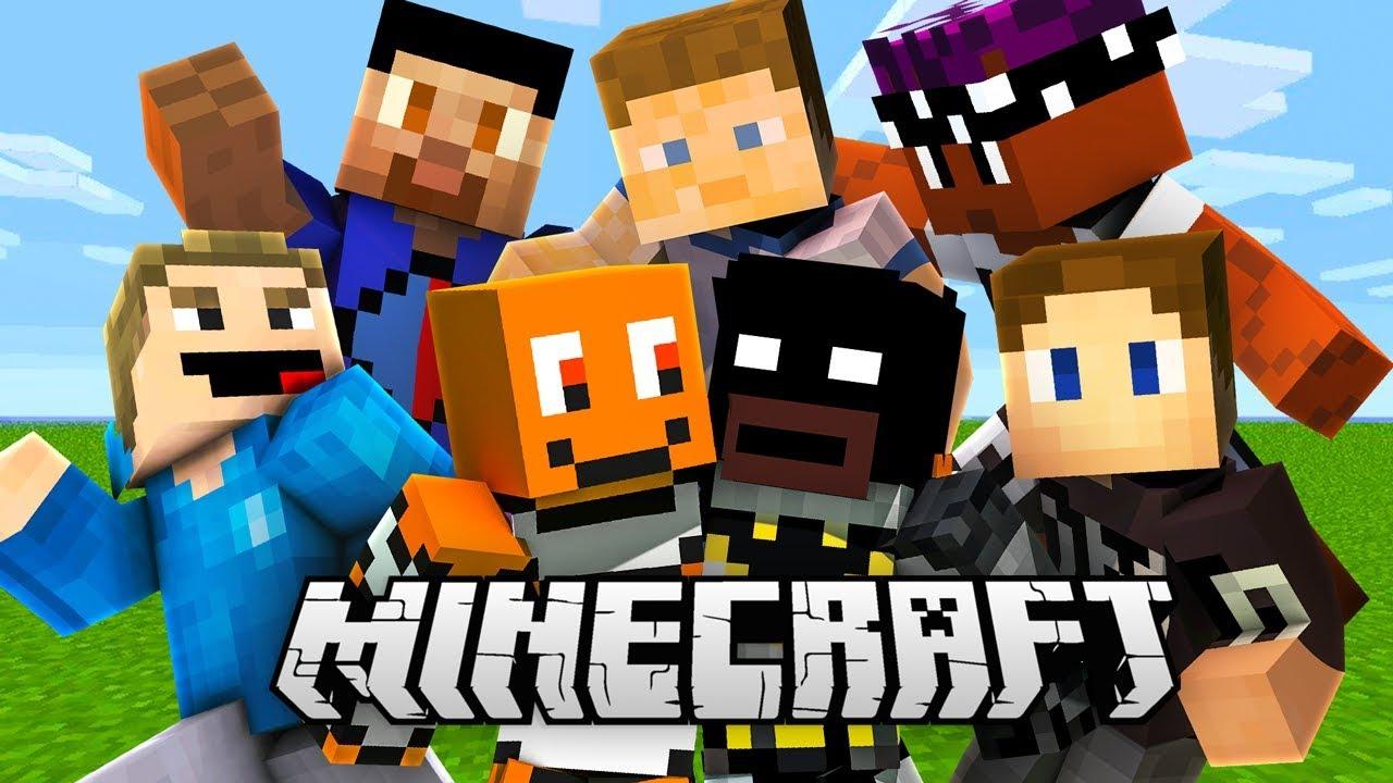 SIDEMEN PLAY MINECRAFT (Minecraft SIDECRAFT #1)
