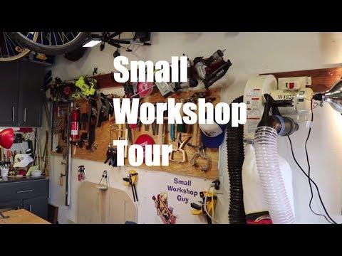 Workshop Tour and 4 Principles of Setting Up a One Car Garage Workshop