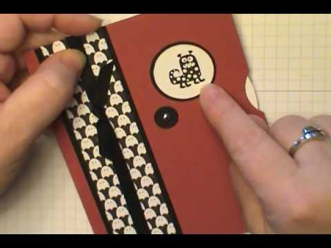 Easy Viewmaster Card using Stampin' Up! Spooky Bingo Bits