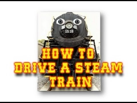 How To Drive A Steam Train for Kids | Animated Learning Video for children