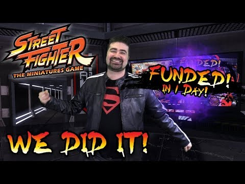 WE FUNDED in 1 Day! Street Fighters: TMG is COMING!