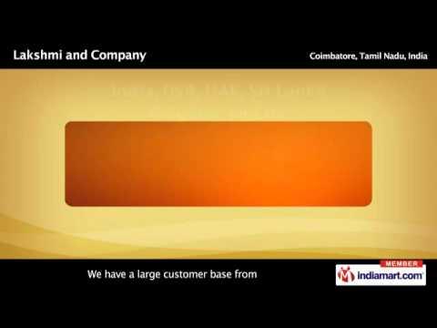 Concrete Mixers by Lakshmi and Company, Coimbatore