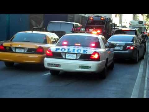 NYPD STUCK IN NYC TRAFFIC JAM ON AN EMERGENCY CALL