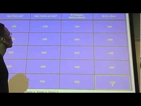Spanish Jeopardy Project