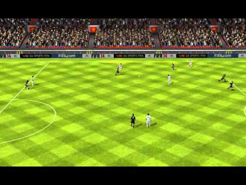 FIFA 14 Android - 11 DE MESSI VS 11 DE EL SHAARAWY