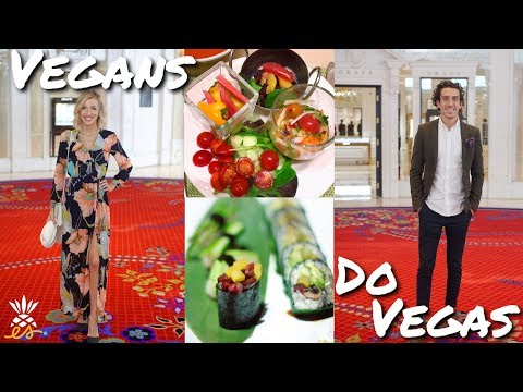 Vegans Do Vegas: How We Stay Plant-based + Healthy While Traveling (Vlog 1)