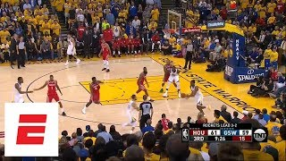 Best moments from Warriors defeating Rockets in Game 6 of Western Conference finals   ESPN