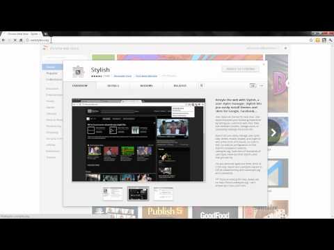 How To Change Facebook Themes On Google Chrome Beta [Watch In HD]