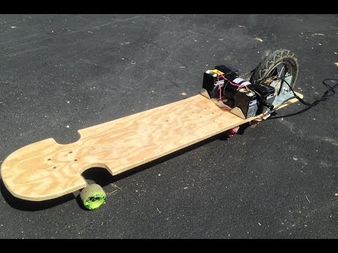 How To Make An Electric Longboard / Skateboard