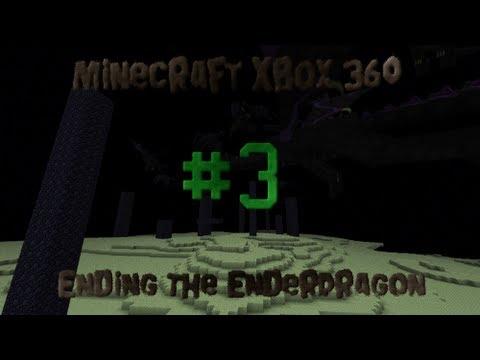 Minecraft Xbox 360 - Ending The Ender Dragon - #3 SPIDER SPAWNER