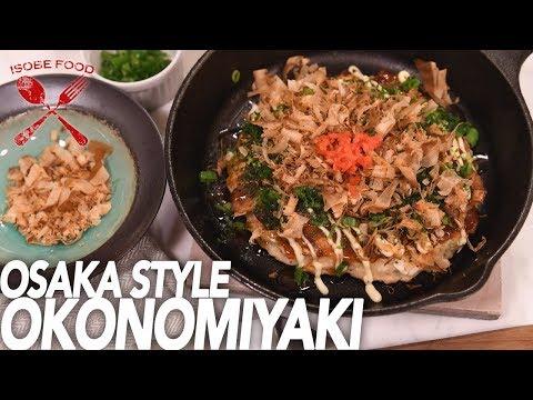 Osaka Style Okonomiyaki - Best Japanese Comfort Food - Isobe Food