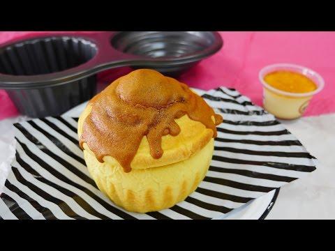 Giant Pudding Cupcake Bread カップケーキみたいな ジャイアントプリンパン くまのプーさんがはちみつ食べたいなぁとやってきたらあやまる