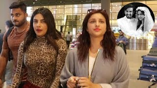 Priyanka Chopra Arrives To Attend Ranveer Singh & Deepika Padukone's Wedding Before Her Marriage