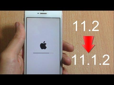 How To DOWNGRADE From iOS 11.2 to iOS 11.1.2 + Jailbreak News