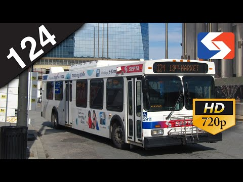 SEPTA Ride: 2004 New Flyer D40LF #5911 on route 124 to Center City Philadelphia